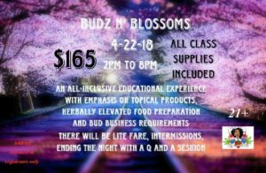 Buds n' Blossoms by BudLyfe Exclusives (DC) April 22 2018