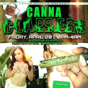 Canna Clappers (DC) April 20 2018
