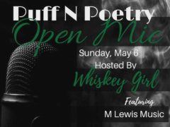Dope DC Creates presents Puff N Poetry (DC) May 6 2018