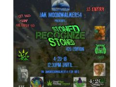 Jak Moonwalker54 presents Stoned Recognize Stoned (DC) April 20 2018