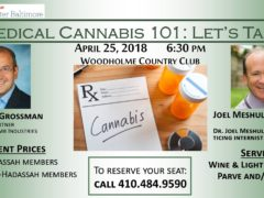 Medical Cannabis 101:Let's Talk Hosted by Hadassah Greater Baltimore (MD) April 25 2018