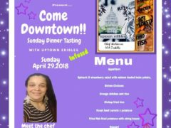 Sunday Dinner Tasting (DC) April 29 2018