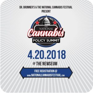The National Cannabis Policy Summit (DC) April 20 2018