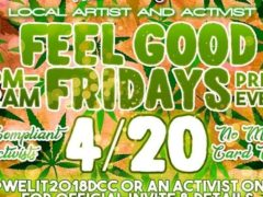 Welit Feel Good Friday's (DC) April 20 2018