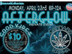 Cannabis Karma presents Afterglow (DC) April 23 2018