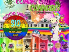 2nd Annual Coming Out Cannabis Hosted by Cannabis Karma (DC) June 4 2018