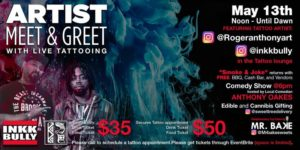 Backyard BBQ at the Artist Meet & Greet with Live Tattooing (DC) May 13 2018