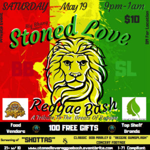 Big Bhangs Stoned Love Reggae Bash (DC) May 19 2018