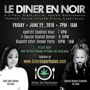 Dîner De Perfusion presents Le Diner En Noir (DC) June 22 2018