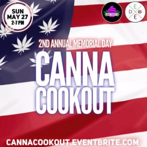 DC's Canna Cookout: Memorial Day Hosted by Cloud Events DC (DC) May 28 2018