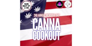 DC's Canna Cookout- Memorial Day by Cloud Events DC (DC) May 27 2018