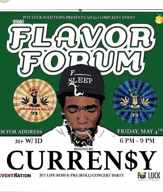 Flavor Forum hosted by Curren$y (DC) May 4 2018