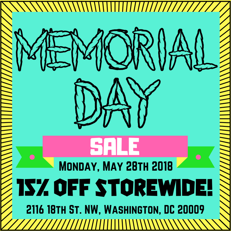 FunkyPiece Memorial Day Sale (DC) May 28 2018