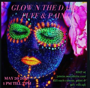Glow in the Dark Puff & Paint DC Style by Joint Meditations (DC) Sundays