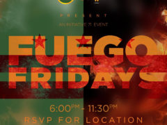 Mamajuana Edibles & Rabble Dabble Presents FUEGO FRIDAY (DC) May 4 2018