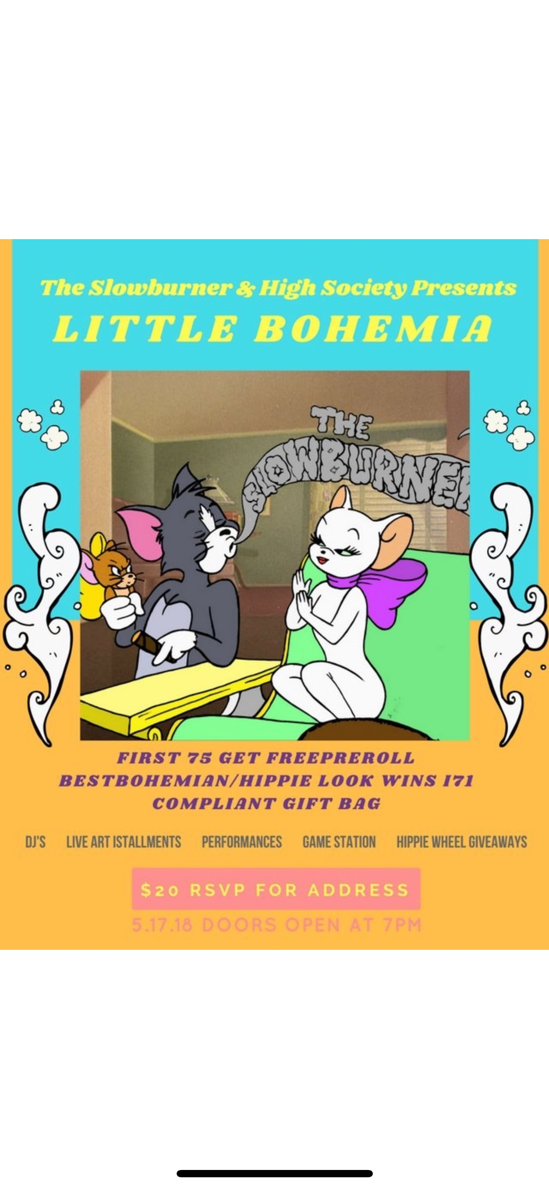 The Slowburner Presents Little Bohemia (DC) May 17 2018