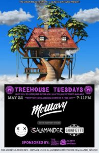 TreeHouse Tuesdays ft. McWavy & Confetti Hosted by Glazed & Infuzed (DC) May 22 2018