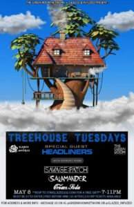 Treehouse Tuesdays ft. Savage Patch & Cream Soda (DC)