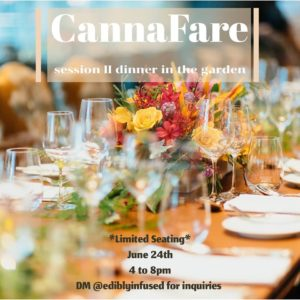 Edibly Infused and HighBrow Events present Cannafare (DC) June 24 2018