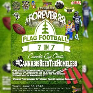 Forever 88 7 On 7 Flag Football Tournament By Good Gas Dc June 30