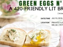 Green Eggs N' Ham, A 420-Friendly Brunch by Smart People Toke (DC) July 25 2018