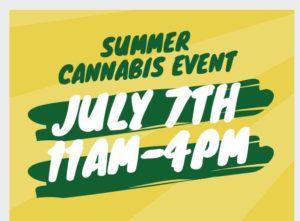 Summer Cannabis Awareness Event! Hosted by Nature's Care & Wellness (MD) July 7 2018