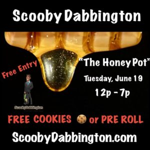 The Honey Pot- TUESDAY'S Hosted by Scooby Dab Bington (DC) June 19 2018