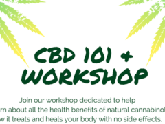 CBD 101 & Workshop by The Alchemist (DC) July 14 2018