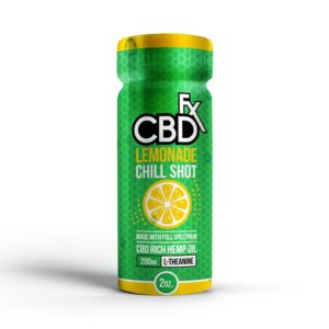 CBDFX CBD Chill Shot Lemonade Flavor 20mg
