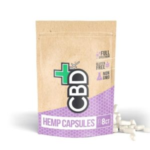 CBDFX CBD Pills 8ct Pouch 200mg