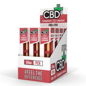 CBDFX CBD Vape Pen Strawberry Lemonade 12 Pack