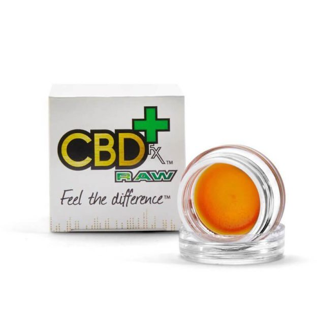 CBDFX CBD Wax Concentrated Dabs