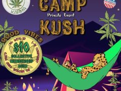 Camp Kush Hosted by Cannabis Karma (DC) July 9 2018