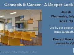 Cannabis & Cancer - A Deeper Look Hosted by Curio Wellness (MD) July 25 2018