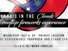 In the clouds by Elevations Events and Manny Pack Be Loud (DC) July 4 2018