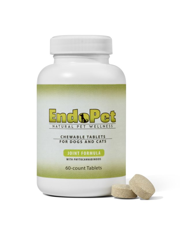 Pure Spectrum CBD Endopet Enriched Hemp Joint Support Capsules for Dogs and Cats