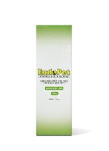 Pure Spectrum CBD Endopet Enriched Hemp Tincture For Medium Dog Breeds and Cats