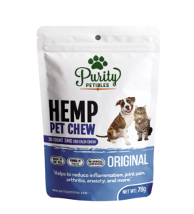 Purity Petibles HEMP PET TREATS 150MG