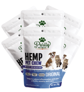 Purity Petibles HEMP PET TREATS 150MG 6 PCS