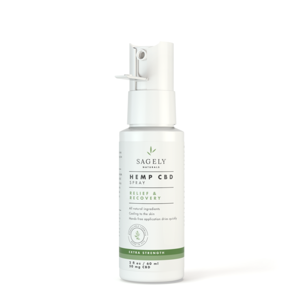 Sagely Relief & Recovery Spray