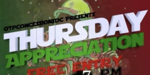 THURSDAY APPRECIATION hosted by Iotpconcessionsdc (DC) August 2 2018