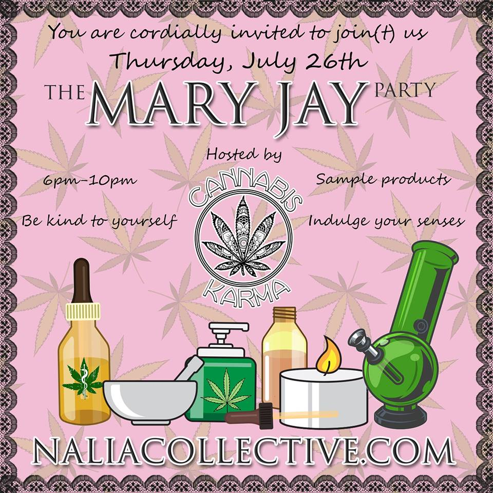 The Mary Jay Party Hosted by Cannabis Karma (DC) July 26 2018