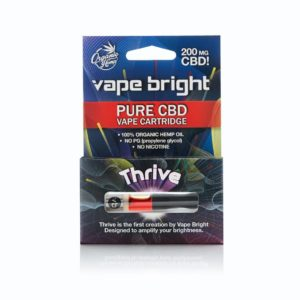VAPE BRIGHT - THRIVE CBD VAPE CARTRIDGE – 200MG