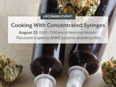 COOKING WITH CONCENTRATED SYRINGES By National Holistic Healing Center (DC) August 22 2018