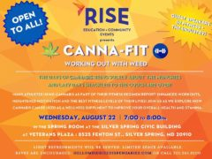 Canna-Fit: Working Out with Weed Hosted by RISE (MD) August 22 2018