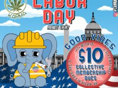 Cannabis Karma Labor Day Private Member Event (DC) September 3 2018