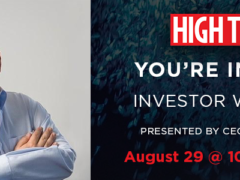 High Times Investor Webinar (online) Aug 29 2018