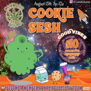 The Cookie Sesh Hosted by Cannabis Karma (DC) August 13 2018