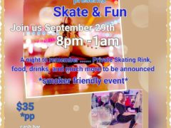 A Taste of Heaven Cakes presents Skate & Fun (DC) September 29 2018