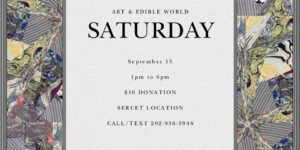 ART & EDIBLE WORLD (DC) September 15 2018